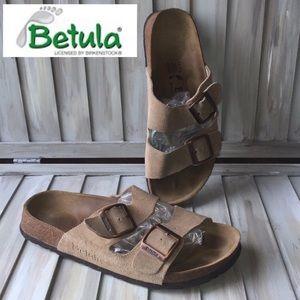 BETULA by BIRKENSTOCK L10 M8 ARIZONA Tan sandals